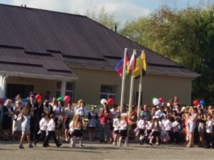 2016 год Праздник 1 сентября в станице Раевская